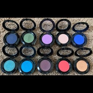never used, sealed with tag NYX Eyeshadow singles